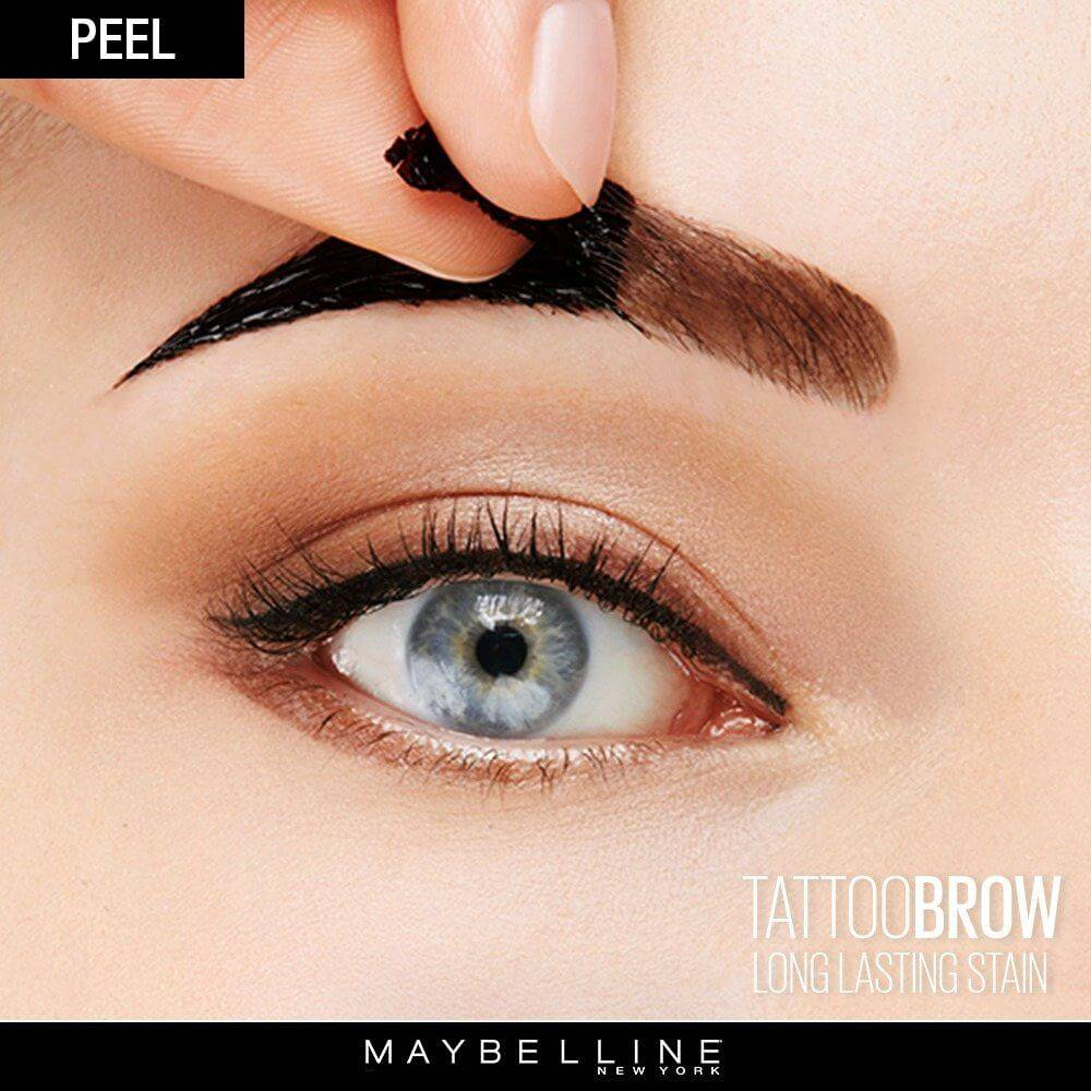 مستحضر تلوين الحواجب Tattoo Brow Peel Off Tinted Semi-Permanent Eyebrows الجديد